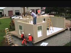 The Future Of Residential Housing - Zero Energy Housing - YouTube