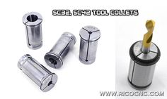 C Type Straight Shank Collet Powerful Force C-Clamp Router Collets