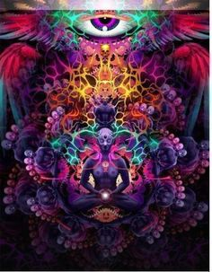 "astralrodney: "" ""The third eye chakra is about inner vision and experience on the subtle planes such as dreams, meditations and astral projection."" Do you want a regular dose of awesome Astral. Psychedelic Art, Psy Art, Astral Projection, Third Eye Chakra, Mystique, Visionary Art, Sacred Art, Art Design, Fractal Art"