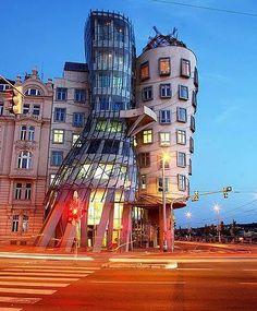 Honey M - Google+ - Dancing House,Czech Republic.