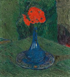File:Giovanni Giacometti - Poppies in a Blue Vase (14851172456).jpg