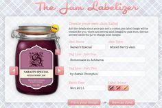 Jam Labelizer - Customizable Jam Label Creator - Free
