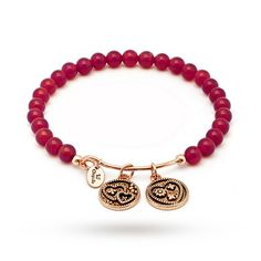 For Her - Chrysalis Love Red Agate Bangle - CRBH0104RG-