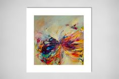 """Saatchi Online Artist: Victoria Horkan; Oil, 2011, Painting """"Butterfly Series 1"""""""