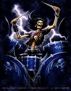 Drummer Skeleton