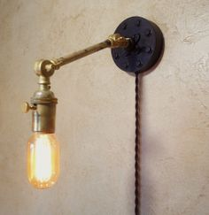 1000+ images about decor: lights on Pinterest Wall sconces, Industrial wall sconces and Sconces