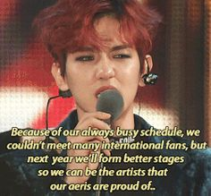They work so hard for us..<3 We are surely gonna get you that 5th daesang this year. <3 <3 #Baekhyun #EXO #KPOP