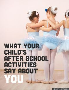 Thinking about signing your child up for a few kid activities? Click through for a funny list of what your child's extracurricular activities say about you and your family!