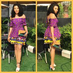 @ella_signature  #africanprint #africanfashion #ankara #ankarastyles #ghana #ankarafashion #asoebi #asoebibella #ankarazone #nigerianwedding #naija #asoebistyles #abuja #9ja #africa #kente #ankaralover #ankaracatalogue #lagos #nigeria #melanin #ootd #style #blogger #fashionista #nigerianblogger #africantrendystyles #wax #beauty #pagne Ghana, Ankara Short Gown, Signature, Ootd, African Clothes, Aso Ebi, Strapless Dress, Wax, Luxury