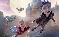 Download wallpapers The Little Vampire 3D, Rudolph, 4k, 2017 movie, 3d-animation