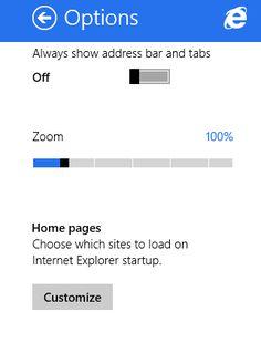 Come impostare la homepage di Internet Explorer su Windows 8.1