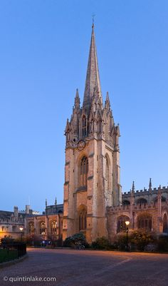 Photos of the University Church of St Mary the Virgin, Oxford © Quintin Lake