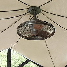 Allen roth valdosta 20 in oil rubbed bronze outdoor downrod mount shop lighting ceiling fans at lowes aloadofball Gallery