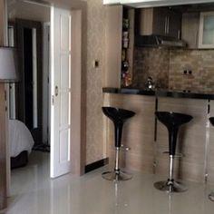 Mini-Bar, Living room with LED satellite TV of SAFa 3