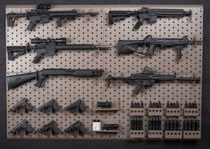 Making A Peg Board Wall Gun Rack Armory Blog Gun