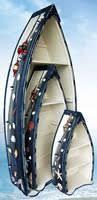Pelican Bay Nautical Gifts BC-02 Set 3 Boat Shelves