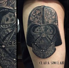 Creative Darth Vader's helmet by Clara Sinclair.