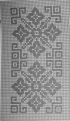 Photo from album Filet Crochet Charts, Crochet Cross, Knitting Charts, Thread Crochet, Crochet Motif, Crochet Doilies, Crochet Patterns, Counted Cross Stitch Patterns, Cross Stitch Designs