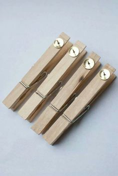 Glue tacks onto pegs to pin onto corkboards, so you can peg papers or photos. Great way to display the crafts.