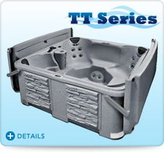 Tuff Spas TT Series spas come standard with the exclusive Tuff Top hard cover.  This cover is more energy efficient, durable, and is backed by a lifetime warranty.  Hard top hot tub