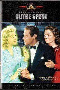 Noel Coward's 'Blithe Spirit' 1945 film with Rex Harrison http://historyusherette.blogspot.co.uk/2012/03/be-you-blithe-and-bonny.html?spref=tw