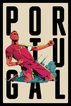 Portugal World Cup 2018 team posters: Former winners, fan favourites, star players ready for Russia Soccer Art, Football Art, Soccer Games, Play Soccer, World Cup 2018 Teams, Fifa World Cup, Soccer Drawing, Ronaldo Quotes, World Cup