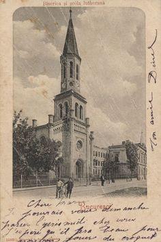 Biserica Luterana Bucharest Romania, Time Travel, Notre Dame, Dan, Tourism, Pride, Traveling, Memories, History
