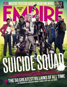 Empire August 2016 - Suicide Squad