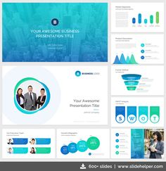 22 best professional powerpoint templates images on pinterest in classy business presentation template with clean elegant ppt slide designs accmission Images