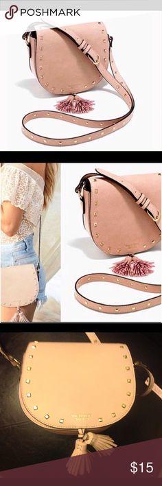 NWT Victoria's Secret Blush Studded Purse NWT V.S. Blush Studded Cross-body Purse Victoria's Secret Bags