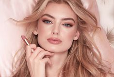 Shop the iconic Charlotte Tilbury Pillow Talk collection including the award-winning pillow talk lipstick, lip liner, highlighter palettes and blush makeup. Best Eyeshadow, Pink Eyeshadow, Colorful Eyeshadow, Eyeshadow Palette, Coral Lipstick, Pink Lipsticks, Glossy Lipstick, Lip Gloss, Blush Makeup