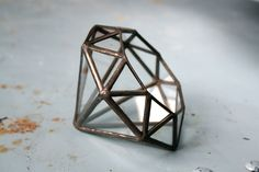 Diamond //made with recycled glass// - found via @Moorea Seal