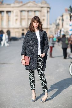 polished patterned look