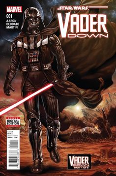 Marvel cashes in on Star Wars mania with a big crossover between their two flagship books.