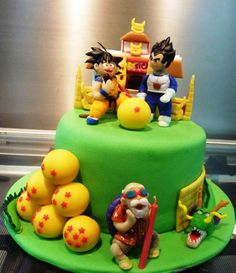 Buccias Cakes Torta Dragon Ball Ii torta gael Pinterest