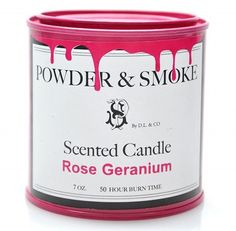 paint tin style candle #design #packaging #powder