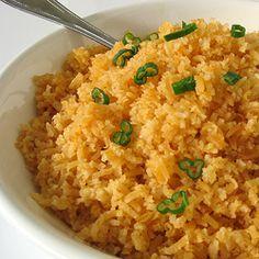 authentic Mexican rice sopa de arroz/arroz esponjado