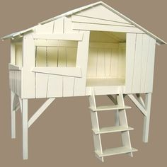 Tree House Bed from Burford Online. I want one of these for the kids so badly.