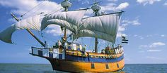 Roanoke Island Festival Park - You can explore a replica ship modeled after one of the seven original ships that explored the area in 1585!  And yes, she is seaworthy!!!!!