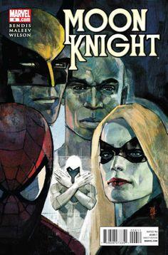 Moon Knight Vol. 5 # 6 by Alex Maleev