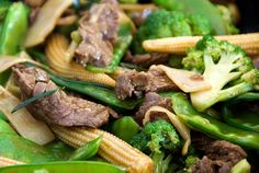 chinese stir-fried beef noodles recipe | use real butter