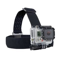 Action-kamera Gopro Zubehör Stirnband Brustkopfband Berg Einbeinstativ Für go pro hero 3 3 + 4 5 sj4000 sj5000 sport cam helm