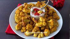 Fırında Çıtır Karnabahar Tarifi - Tarif Defteri Cauliflower, Pasta, Food And Drink, Yummy Food, Chicken, Dining, Vegetables, Cooking, Ethnic Recipes