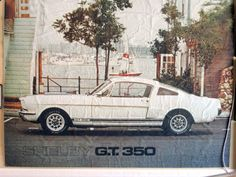 Original Shelby GT350 Poster