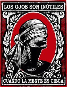linóleo Eye Makeup becky g eye makeup Jose Garcia, Arte Black, Protest Art, Plakat Design, Political Art, Scratchboard, Arte Horror, Art Inspo, Printmaking