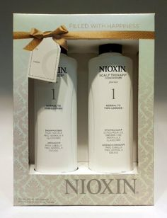 Nioxin System 1 Cleanser 300 Ml Andskalp Terapy 300 Ml by Nioxin. $11.95. nioxin holliday duo sistem #1. Nioxin System 1 Holiday Duo Contains: System 1 Cleanser: Helps to remove follicle-clogging sebum, fatty acids and environmental residues from the scalp skin and hair. Cleanses to provide thicker-looking hair. System 1 Scalp Therapy: A lightweight conditioner that helps provide hair resilience and control moisture balance.
