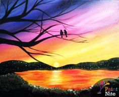 Paint Nite Wichita   Taste and See Feb. 16 I'm going to be teaching this painting at Taste and See in a couple weeks. Use the 45% off code PNWICHITA45 to get tickets for just $25!
