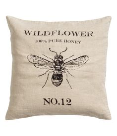 H&M Linen Cushion Cover $17.95 @cashurst I don't think this would match my decor but I think it would look really cute in yours!