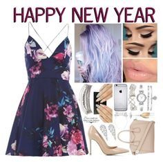 """HAPPY NEW YEAR!🍾🎉 (read d?)"" by roxouu ❤ liked on Polyvore featuring Gianvito Rossi, AX Paris, Anne Klein, Givenchy, Topshop, Wrapped In Love, Wine Enthusiast, WALL, thankyou and newyear"