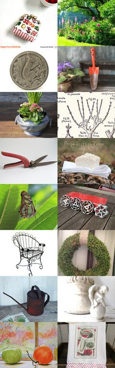 All is Well in the Garden by Diane Waters on Etsy--Pinned+with+TreasuryPin.com